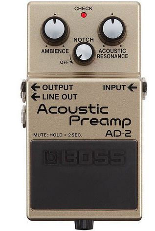 Boss Acoustic Preamp AD-2 pedal - L.A. Music - Canada's Favourite Music Store!