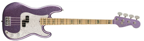 Fender Adam Clayton P Bass Purple Sparkle Only 1 Available here at L.A.MUSIC VERY LIMITED - L.A. Music - Canada's Favourite Music Store!