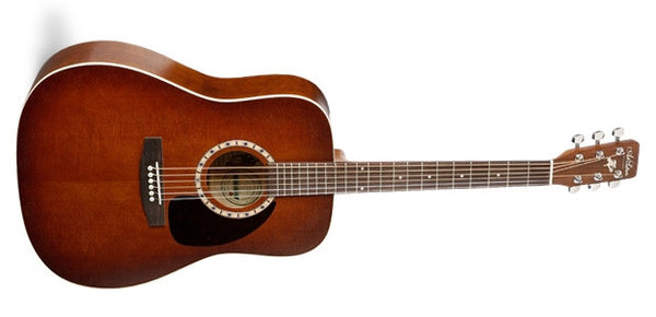Art & Lutherie Cedar Antique Burst QI Acoustic Electric Guitar 023608