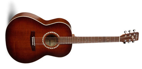 Art & Lutherie Folk Cedar Antique Burst QI Acoustic Electric Guitar 032952