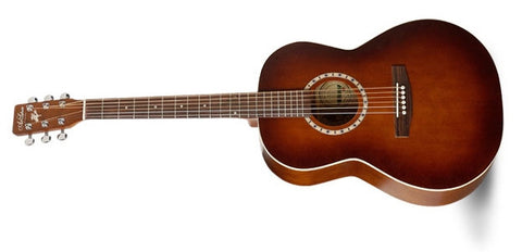 Art & Lutherie Folk Cedar Antique Burst Left QI Acoustic Electric Guitar 033010