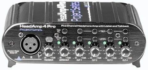 HEADAMP4 PRO WITH TALK BACK - L.A. Music - Canada's Favourite Music Store!