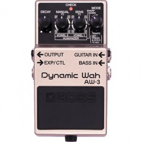 Boss AW 3 Dynamic Wah - L.A. Music - Canada's Favourite Music Store!