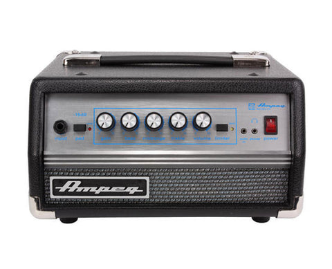 Ampeg Micro VR Head 200W Solid State SVTVR AV - L.A. Music - Canada's Favourite Music Store!