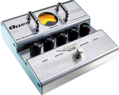Ashdown Bass Sub-Octave Plus True Bypass Switching Pedal