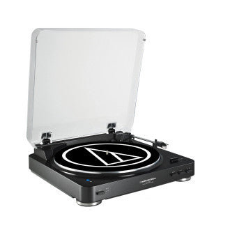 Audio Technica ATLP60BT BlueTooth Turntable Black - L.A. Music - Canada's Favourite Music Store!
