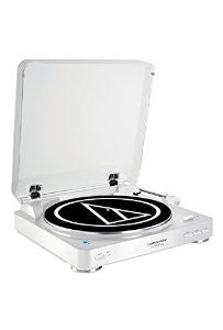 Audio Technica ATLP60BT Bluetooth Turntable White - L.A. Music - Canada's Favourite Music Store!