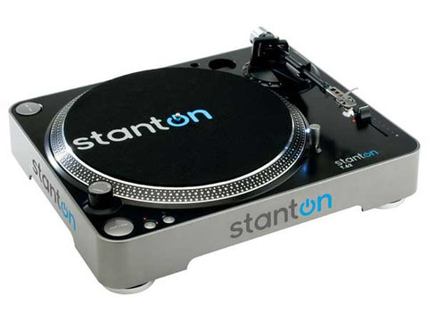 Stanton Direct-Drive Straight-arm Turntable with 500V3 Cartridge T62B