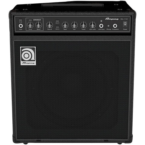 Ampeg BA112v2 75W RMS Single 12'' Ported Combo with Scrambler