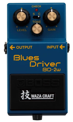 Boss BD-2W Blues Driver Waza Craft Special Edition - L.A. Music - Canada's Favourite Music Store!