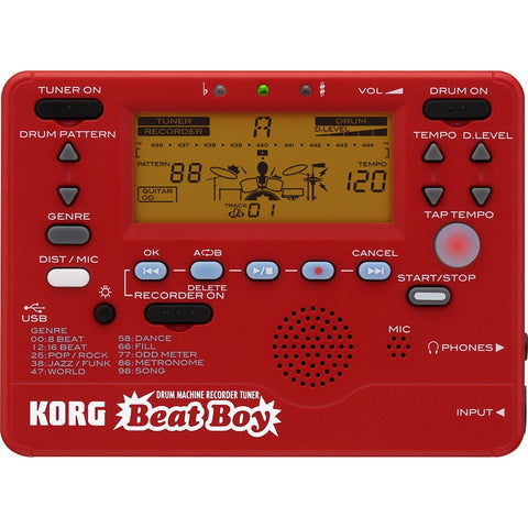 Korg Palm Size Drum Machine BEATBOY - L.A. Music - Canada's Favourite Music Store!