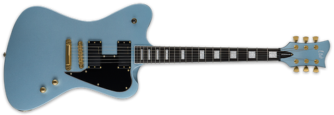 ESP LTD BILL KELLIHER SIGNATURE GUITAR SPARROWHAWK PELHAM BLUE