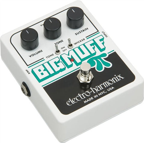 Electro-Harmonix XO Big Muff Pi with Tone Wicker Distortion Guitar Effects Pedal - L.A. Music - Canada's Favourite Music Store!