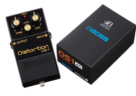 Boss DS-1 Limited Edition Black Distortion Pedal - L.A. Music - Canada's Favourite Music Store!