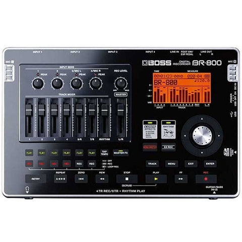 Boss BR 800 Digital Recorder - L.A. Music - Canada's Favourite Music Store!