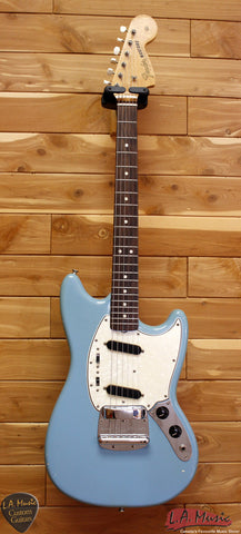 Fender 1966 Mustang Daphne Blue All Original Serial Number 132943 - L.A. Music - Canada's Favourite Music Store!