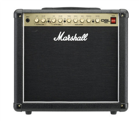 "Marshall 15 Watt All Tube Combo Amp Single 12"" Celestion Speaker DSL15C - L.A. Music - Canada's Favourite Music Store!"