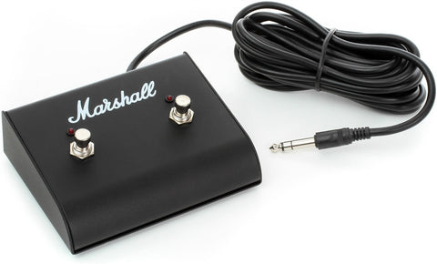 Marshall Dual Latching Led FootSwitch PEDL91003 - L.A. Music - Canada's Favourite Music Store!
