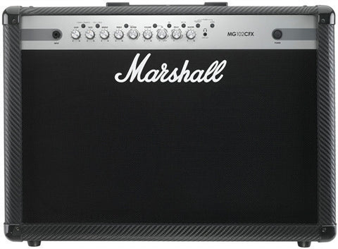"Marshall 100 Watt 4 Channel Amp With Built in Effects and 2 X 12"" Speakers MG102CFX - L.A. Music - Canada's Favourite Music Store!"