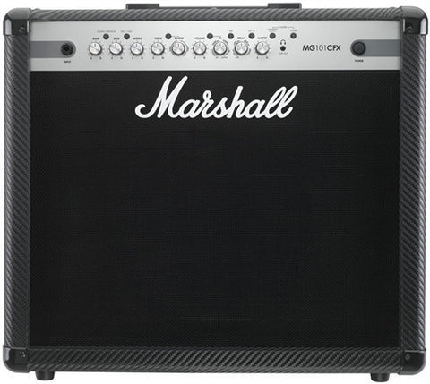 "Marshall 100 Watt 4 Channel Combo With Effects and 12"" Speaker MG101CFX - L.A. Music - Canada's Favourite Music Store!"