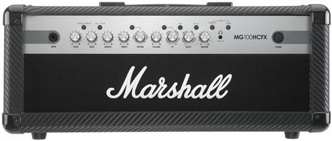 Marshall 100 Watt 4 Channel Head With Effects MG100HCFX - L.A. Music - Canada's Favourite Music Store!