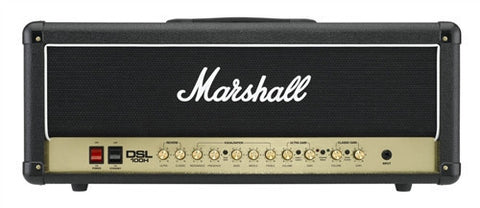 Marshall 100 Watt All Tube 2 Channel Amp Head DSL100H - L.A. Music - Canada's Favourite Music Store!