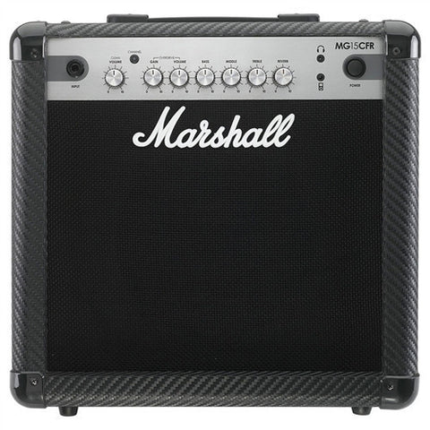 "Marshall 15 Watt 2 Channel Combo With Reverb & 8"" Speaker MG15CFR - L.A. Music - Canada's Favourite Music Store!"