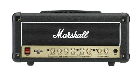 Marshall 15 Watt All Tube 2 Channel Amp Head DSL15H - L.A. Music - Canada's Favourite Music Store!