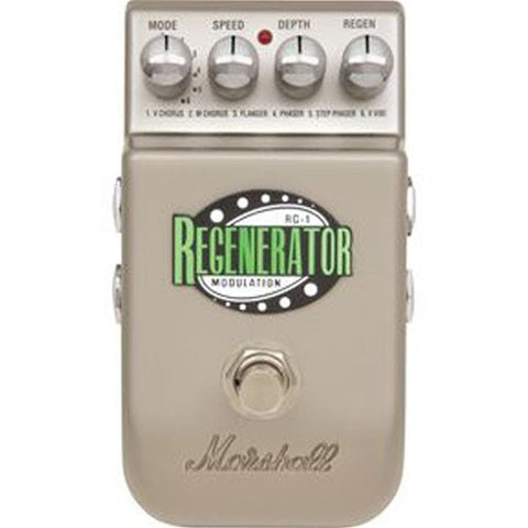 Marshall Stereo Modulation Pedal With 6 Modes RG1 - L.A. Music - Canada's Favourite Music Store!