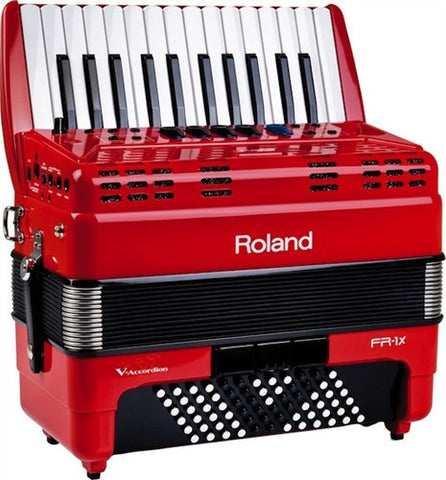 Roland FR-1X Red V-Accordion - Demo