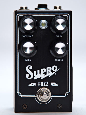Supro Fuzz Effect Pedal With 2 Band EQ &Treble Expression 1304