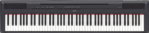 Yamaha P-115 Digital Piano Black 88 Fully Weighted keys with GHS action.