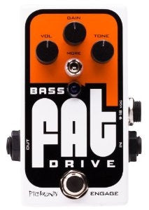 Pigtronix Bass FAT Drive Analog Tube Emulator & Overdrive for Bass
