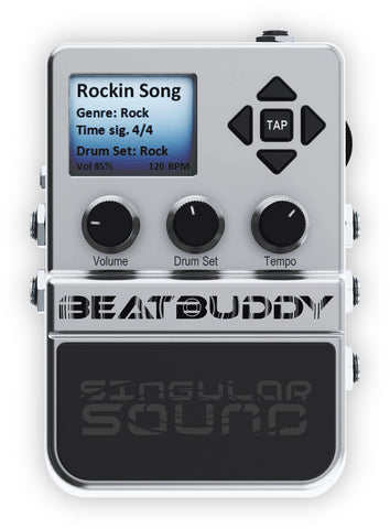 BeatBuddy Drum Machine Pedal - L.A. Music - Canada's Favourite Music Store!