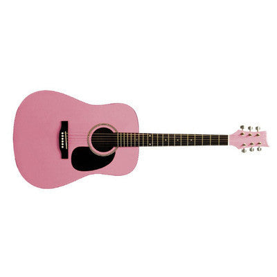Beaver Creek BCTD101 PINK ACOUSTIC - L.A. Music - Canada's Favourite Music Store!