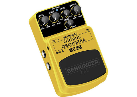 Behirnger CO600 CHORUS ORCHESTRA Ultimate Stereo Chorus Effects Pedal - L.A. Music - Canada's Favourite Music Store!