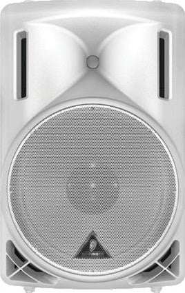 "Behringer B212D-WH Active 550-Watt 2-Way P.A. Speaker System  With 12"" Woofer and 1.35"" Compression Driver (White) - L.A. Music - Canada's Favourite Music Store!"