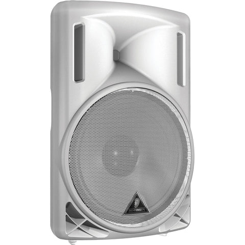 "Behringer B215D-WH Active 550-Watt 2-Way P.A. Speaker System With 15"" Woofer and 1.35"" Compression Driver (White) - L.A. Music - Canada's Favourite Music Store!"