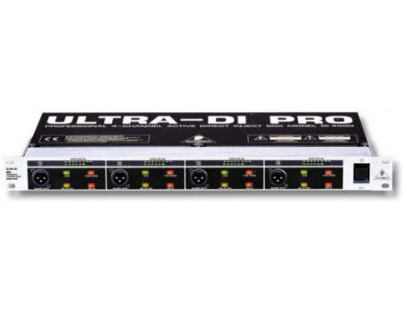 Behringer DI4000 Professional 4 Channel Active Direct Inject Box - L.A. Music - Canada's Favourite Music Store!