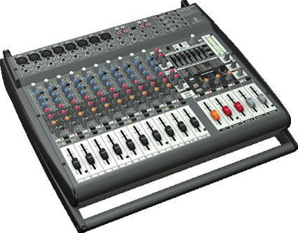 Behringer PMP4000 1600-Watt 16-Channel Powered Mixer  With Multi-FX Processor and FBQ Feedback Detection System - L.A. Music - Canada's Favourite Music Store!