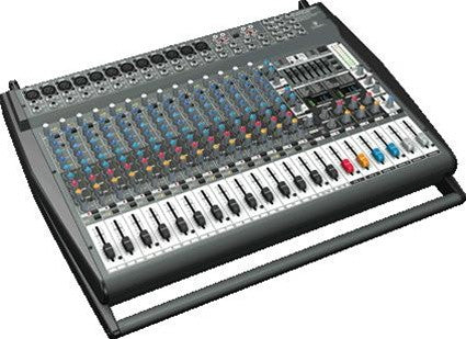 Behringer PMP6000 1600-Watt 20-Channel Powered Mixer  With Dual Multi-FX Processor and FBQ Feedback Detection System - L.A. Music - Canada's Favourite Music Store!