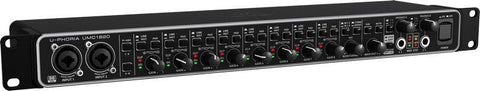 Behringer UMC1820  Audiophile 18x20 24-Bit/96 kHz USB Audio/MIDI Interface with MIDAS Mic Preamplifiers - L.A. Music - Canada's Favourite Music Store!