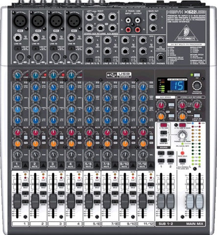 Behringer X1622USB - 16 Input 2 2 Bus Mixer  With EFX and USB