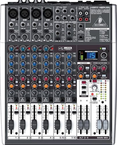 Behringer XENYX X1204 USB 12 Channel Mixer  With USB - L.A. Music - Canada's Favourite Music Store!
