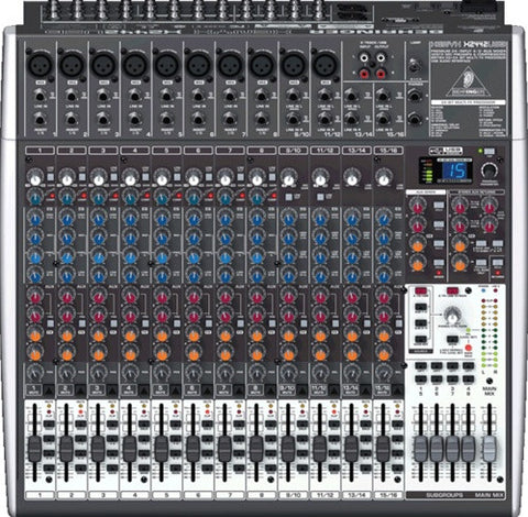 Behringer  XENYX X2442USB - 24 Input 4 2 Bus Mixer  With EFX and USB - L.A. Music - Canada's Favourite Music Store!