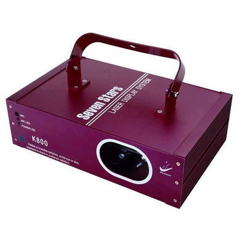 Big Dipper K 800 Two Color Laser Red/Green DMX or Sound Control - L.A. Music - Canada's Favourite Music Store!
