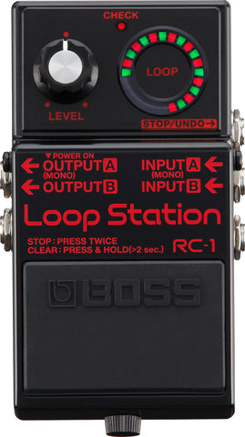 Boss RC-1-BK LIMITED EDITION Loop Station IN BLACK