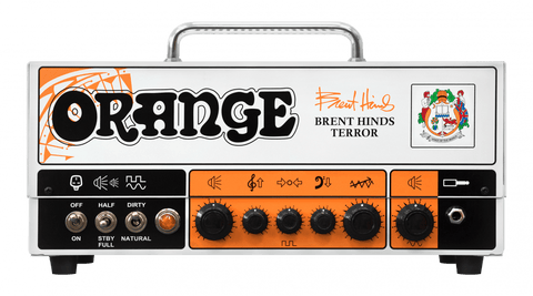 Orange Amplifiers Brent Hinds Terror 15 WATT Tube Guitar Amp Head