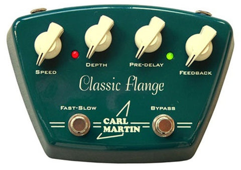Carl Martin Classic Flange Guitar Effects Pedal