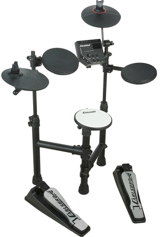 Carlsbro 5-Piece Compact Electronic Drum Kit CLUB100